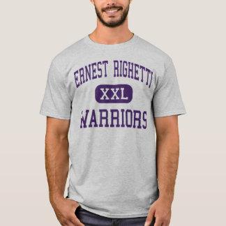 Ernest Righetti - Warriors - High - Santa Maria T-Shirt