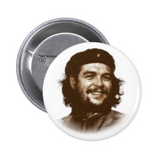 Ernesto Che Guevara Smile 2 Inch Round Button