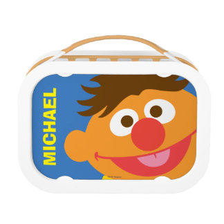Ernie Face | Add Your Name Lunchboxes
