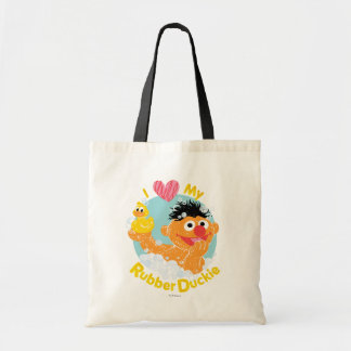 Ernie Loves Duckie Tote Bag