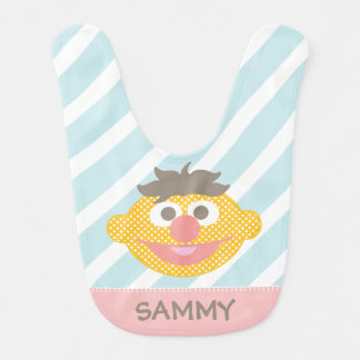 Ernie Polka Dot Big Face | Add Your Name Bib