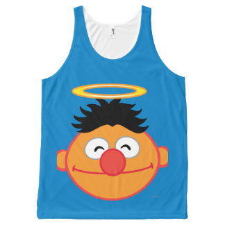 Ernie Smiling Face with Halo All-Over-Print Tank Top