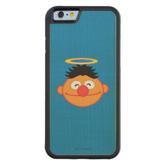 Ernie Smiling Face with Halo Maple iPhone 6 Bumper