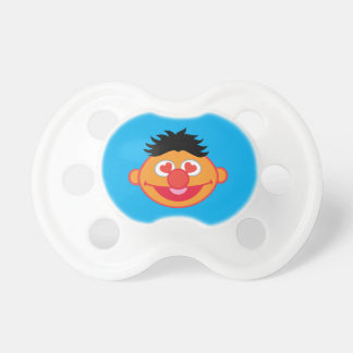 Ernie Smiling Face with Heart-Shaped Eyes Baby Pacifiers
