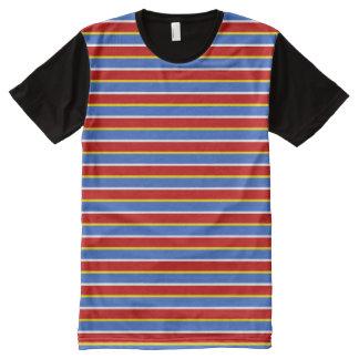 ernie stripes All-Over-Print T-Shirt
