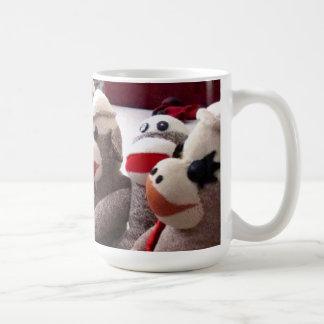 Ernie the Sock Monkey and Friends Mug