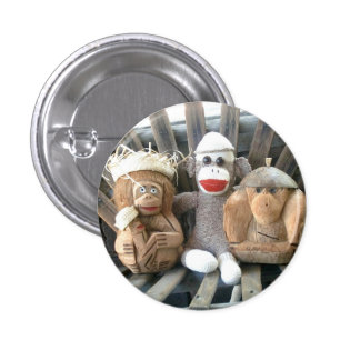Ernie the Sock Monkey and Friends Pin