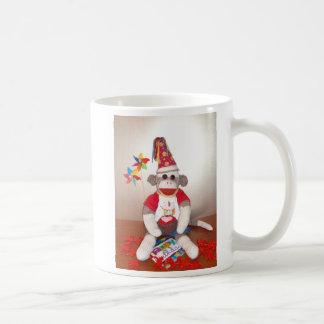Ernie the Sock Monkey Birthday Mug