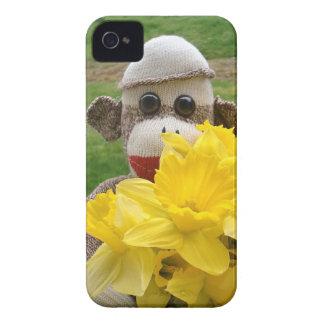 Ernie the Sock Monkey Daffodil iPhone 4/4S Case