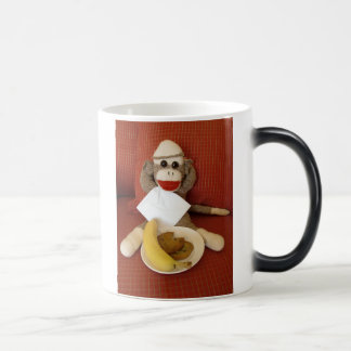 Ernie the Sock Monkey Morphing Mug
