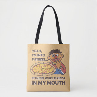 ErnieYeah, I'm into Fitness Tote Bag