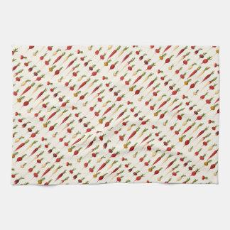Ernst Benary's Radish Varieties Towel