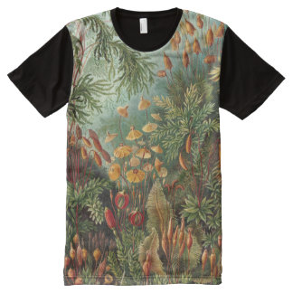 Ernst Haeckel Art Print:Muscinae All-Over-Print T-Shirt