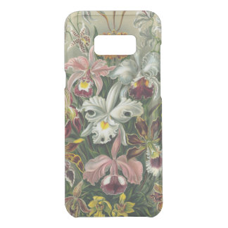 Ernst Haeckel Art Print:Orchidae Oncidiums, tulips Uncommon Samsung Galaxy S8 Plus Case