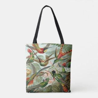 Ernst Haeckel Art Print: Trochilidae Tote Bag