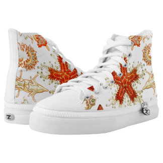 Ernst Haeckel Asteridea starfish Shoes