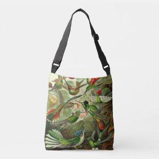 Ernst Haeckel Hummingbird Ornithology Illustration Crossbody Bag