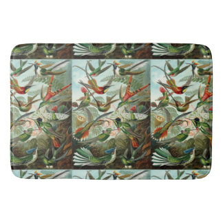 Ernst Haeckel Hummingbirds - Art Forms of Nature Bath Mat