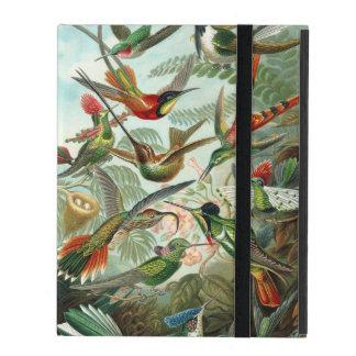 Ernst Haeckel ~ Hummingbirds Cases For iPad
