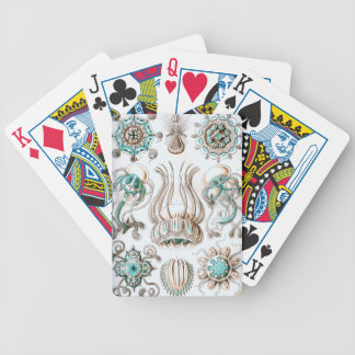 Ernst Haeckel Narcomedusae jellyfish! Poker Deck