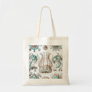 Ernst Haeckel Narcomedusae jellyfish! Tote Bag