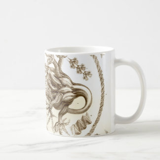 Ernst Haeckel Pennatulida Coral Coffee Mug