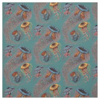 Ernst Haeckel's Discomedusae Fabric