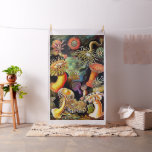 Ernst Haeckel Sea Anemones Vintage Art Fabric