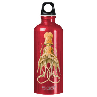 Ernst Haeckel Squid bottle