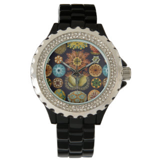 Ernst Haeckel's Oceanic Wonders Wrist Watches
