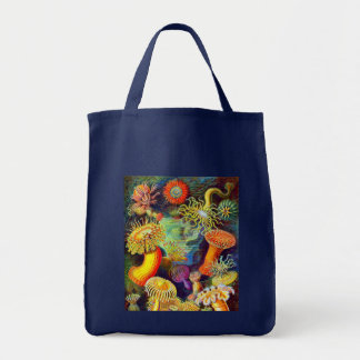 Ernst Haeckel's Sea Anemones Tote Bag