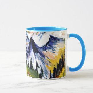 Ernst Kirchner - Berggipfel Mug