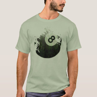 ERODED AND AGED 8 BALL T-Shirt