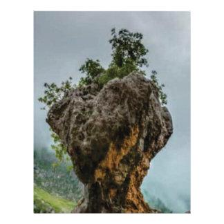 eroded balanced rock letterhead