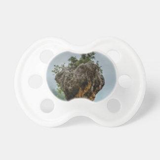 eroded balanced rock pacifier