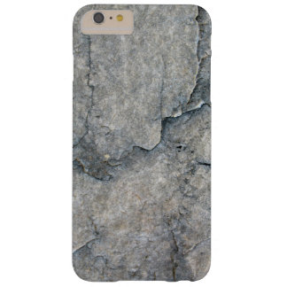 Eroded Gray Rock Texture Barely There iPhone 6 Plus Case