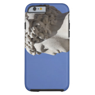 eroded statue outside the Palazzo Vecchio in Tough iPhone 6 Case
