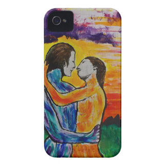Eros and Psyche at sunset iPhone 4 Case-Mate Cases
