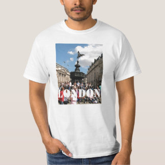 Eros statue Piccadilly Circus London T-Shirt