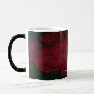 EROTICAs rose bouquet full design Morphing Mug