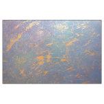 Erratic Craft   Gold Splatter Watercolor Rainbow Fabric