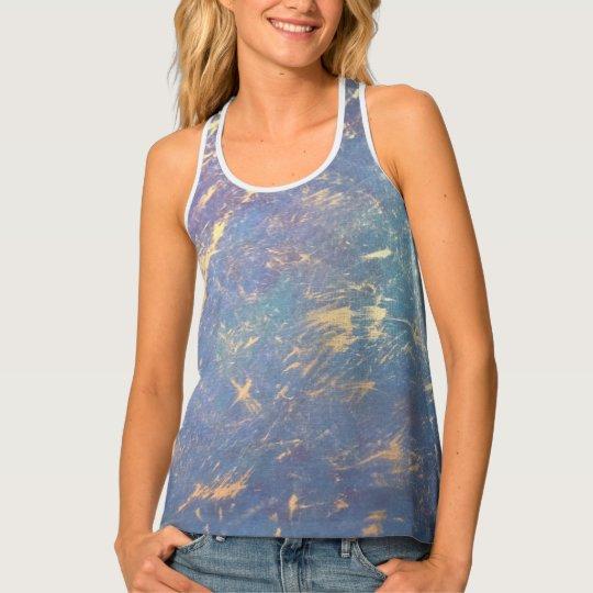 Erratic Fashion | Ombre Pastel Watercolor Rainbow Tank Top
