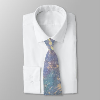Erratic Style | Ombre Pastel Watercolor Gold | Tie