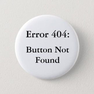 Error 404 2 inch round button