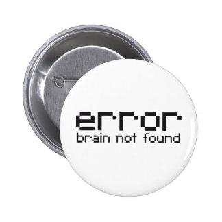 error brain not found 2 inch round button