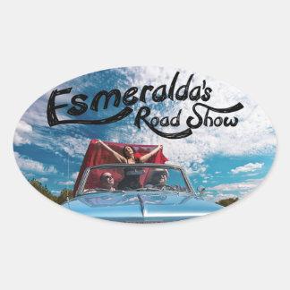 ERS Album Cover Oval Sticker