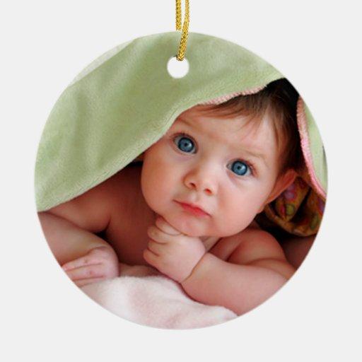Ęrs ornements de Noël du bébé