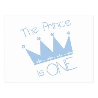 Ęrs T-shirts et cadeaux d'anniversaire de prince C Cartes Postales