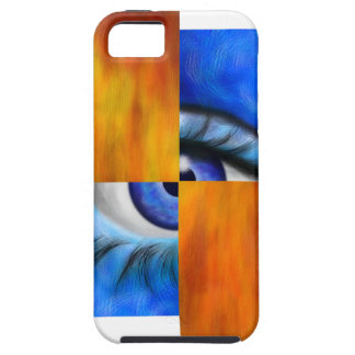 Ersebiossa V1 - hidden eye without back iPhone 5 Covers