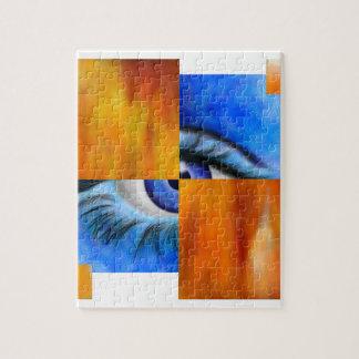 Ersebiossa V1 - hidden eye without back Jigsaw Puzzle